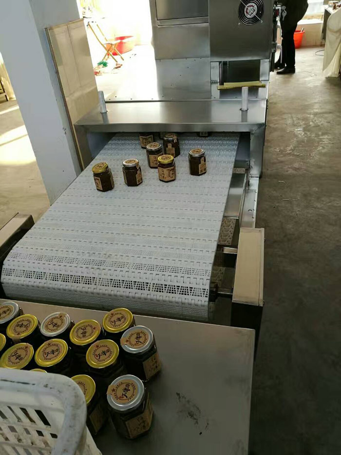 Microwave Sterilizer for Food Products